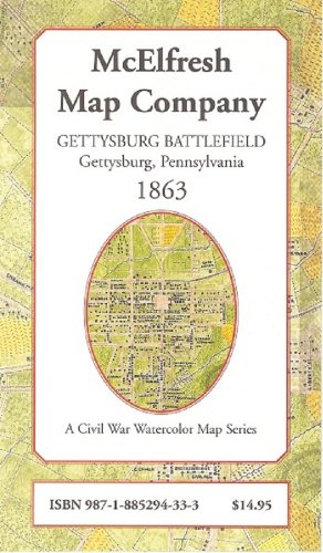 9781885294333: Gettysburg Battlefield, Gettysburg Pennsylvania, 1864