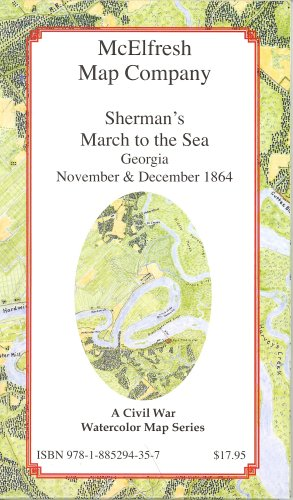 9781885294357: Sherman's March to the Sea, Georgia, November and December 1864