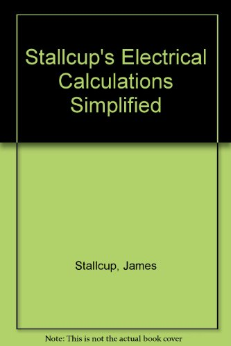 Electrical Calculations Book