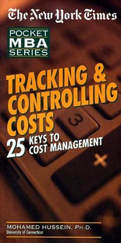 9781885408433: Tracking & Controlling Costs: 25 Keys to Cost Management (Pocket MBA Series)