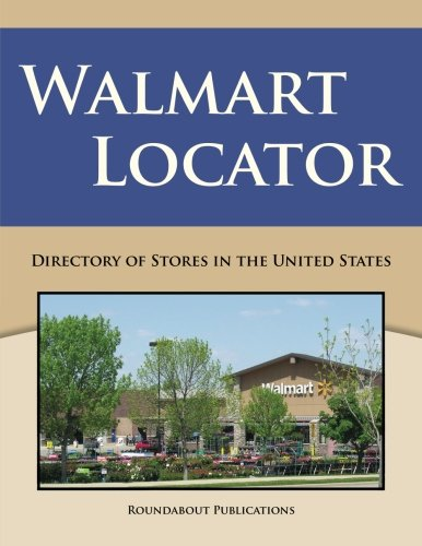 9781885464590: Walmart Locator: Directory of Stores in the United States