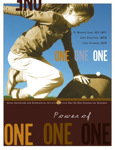 9781885473806: Power of One: Using Adventure and Experiential Activities Within One on One Counseling Sessions