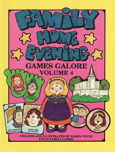 9781885476234: Family Home Evening Games Galore Volume 4