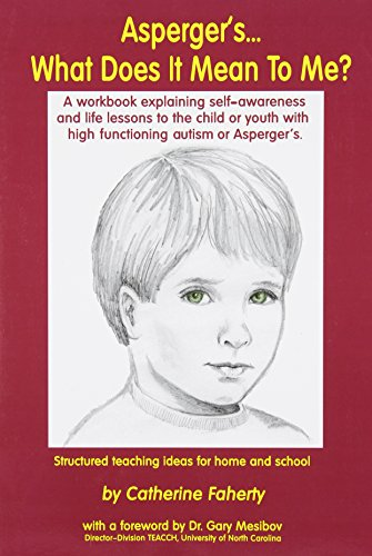 9781885477590: Asperger's What Does It Mean to Me?: A Workbook Explaining Self Awareness and Life Lessons to the Child or Youth with High Functioning Autism or Aspergers.