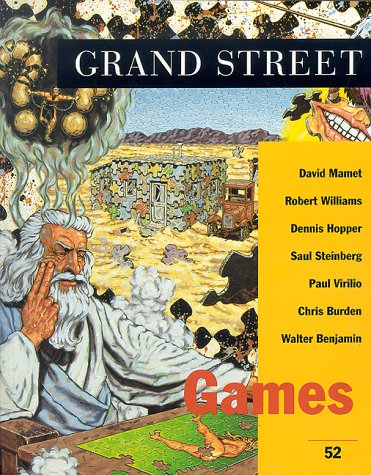 Grand Street 52: Games (Spring 1995): Hopps, Walter, Mamet,