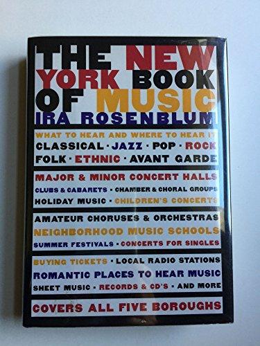 The New York Book of Music: Rosenblum, Ira