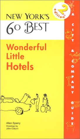 9781885492814: New York's 60 Best Wonderful Little Hotels