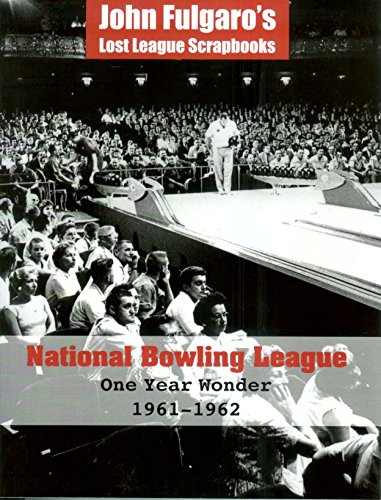 9781885497048: National Bowling League - One Year Wonder