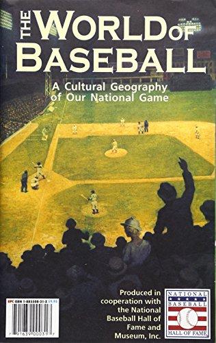 9781885508317: World of Baseball Map