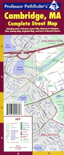 9781885508348: Cambridge, Ma. Complete Street Map , Hedberg Maps (Rand McNally City Maps)