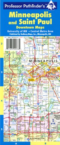 9781885508362: Minneapolis and Saint Paul (Minneapolis & Saint Paul: Downtown Maps)