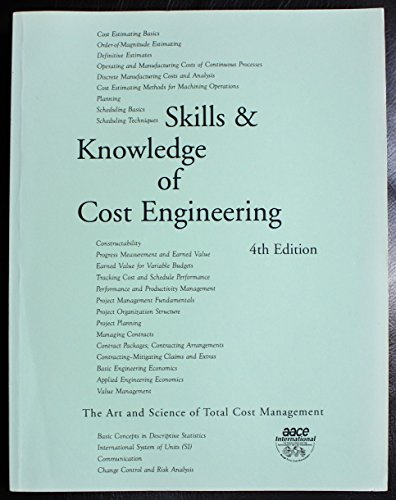 Skills and Knowledge of Cost Engineering: Unknown