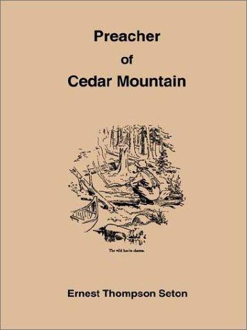 9781885529060: Preacher of Cedar Mountain