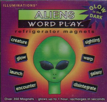 9781885536068: ALIENS WORD PLAY REFRIGERATOR MAGNETS by ILLUMINATIONS (1997)