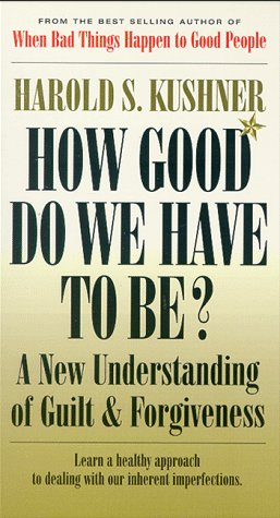 9781885538703: How Good Do We Have to Be [VHS]
