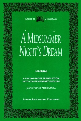 A Midsummer Night's Dream Manual (Access to: Mobley, Jonnie Patricia