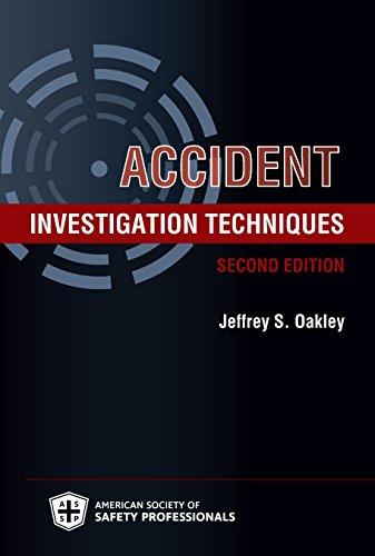 9781885581624: Accident Investigation Techniques, Second Edition