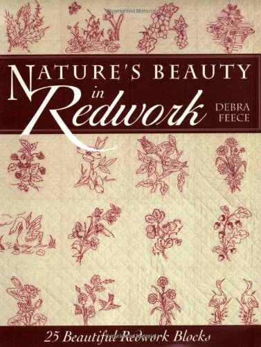 Nature's Beauty in Redwork: Debra Feece