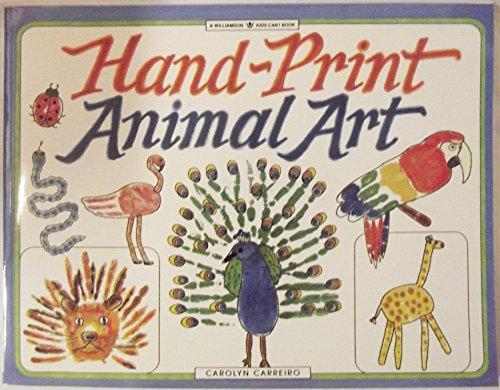 9781885593320: Hand-print Animal Art