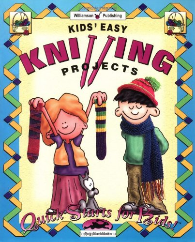 9781885593481: Kids' Easy Knitting Projects (Quick Starts for Kids S.)