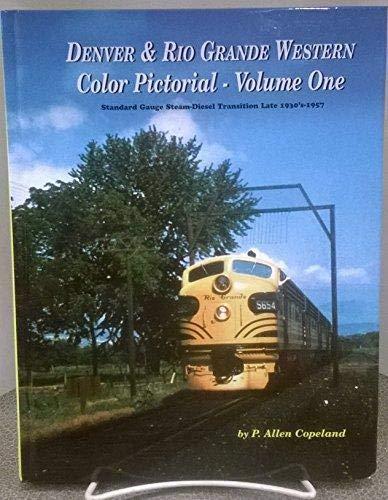 9781885614513: Denver & Rio Grande Western Color Pictorial, Vol. 1