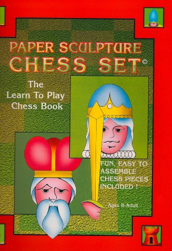 9781885645005: Paper Sculpture Chess Set: The Learn to Play Chess Book