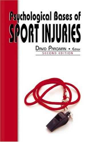9781885693181: Psychological Bases of Sport Injuries