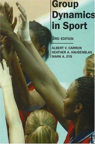9781885693631: Group Dynamics in Sport