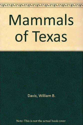 9781885696007: The Mammals of Texas