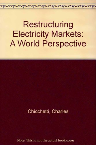 9781885750020: Restructuring Electricity Markets: A World Perspective