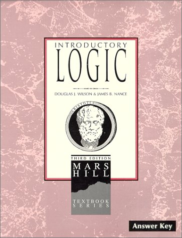 9781885767561: Introductory Logic: Answer Key (3rd edition)