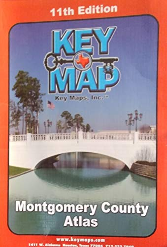9781885822598: Montgomery County Atlas. 11th Ed Key Map