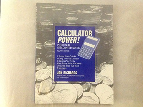 9781885847034: Calculator Power! Profits in Discounted Notes