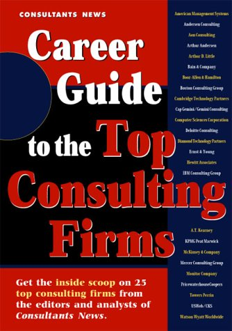 9781885922601: Career Guide to the Top Consulting Firms