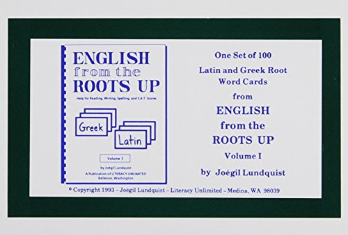 English from the Roots Up Vol 1: Joegil K. Lundquist