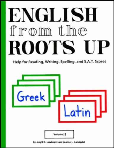 9781885942296: English from the Roots Up Flashcards, Vol. 2