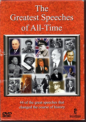 9781885959942: The Greatest Speeches of All-Time Box Set : DVD