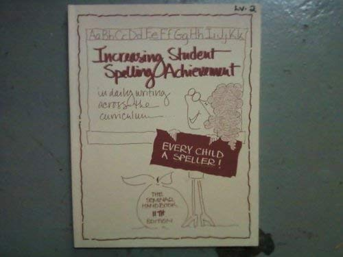 9781886050174: Increasing Student Spelling Achievement