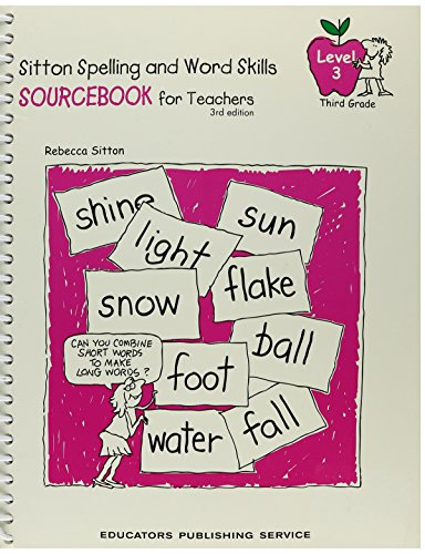 Sitton Spelling, Grade 3 Sourcebook: Not Available