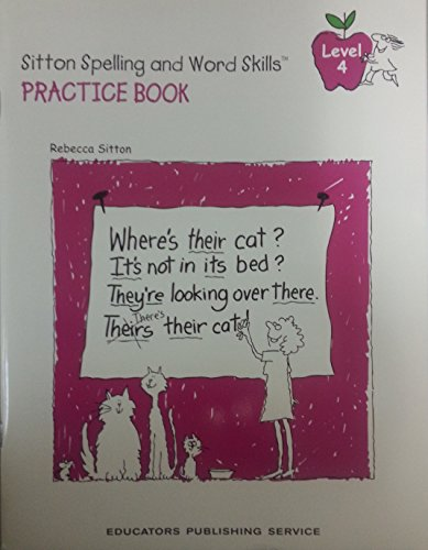 Rebecca Sitton's Practice Book for Learning Spelling: Rebecca Sitton