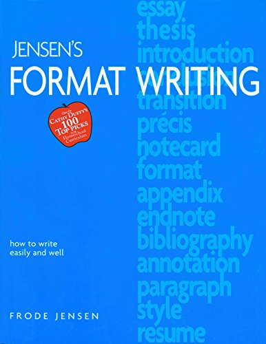 9781886061293: Jensen's Format Writing
