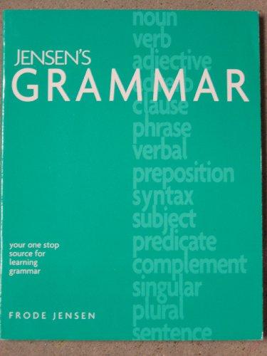 9781886061361: Jensen's Grammar