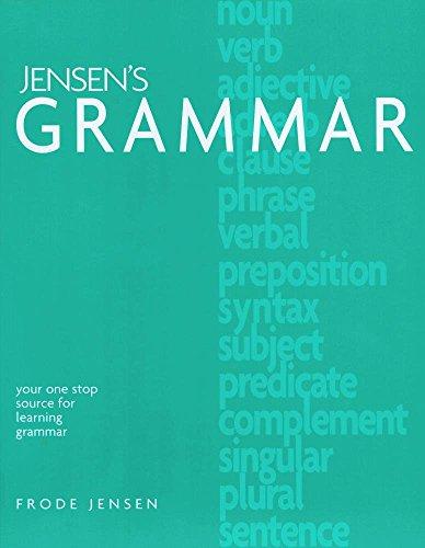 9781886061385: Jensen's Grammar