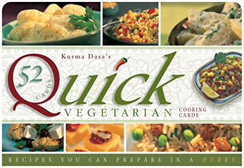 9781886069695: Quick Vegetarian Cards: Recipes You Can Prepare in a Hurry