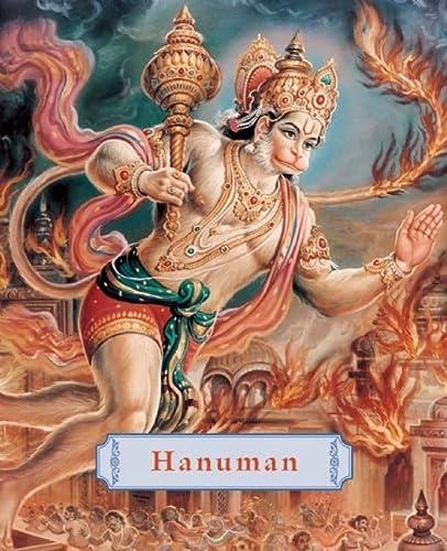 9781886069879: Hanuman: The Heroic Monkey God (Minibook)