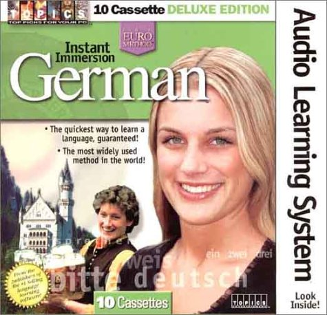 9781886089839: Instant Immersion German (German Edition)