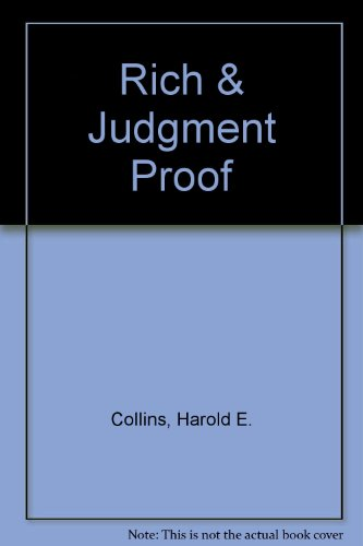 9781886094222: Rich & Judgment Proof