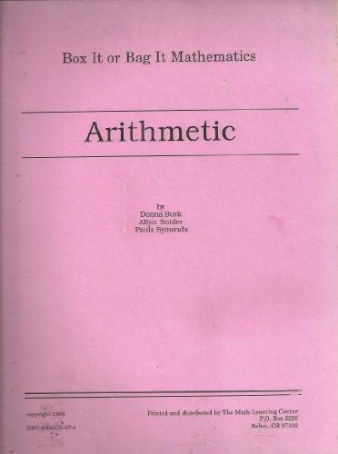 9781886131071: Arithmetic: Box It or Bag It Mathematics - Arithmetic