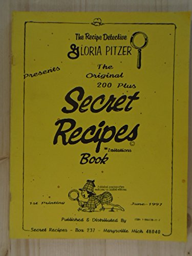 9781886138117: Copycat Cookbook