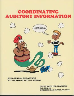 9781886143135: Coordinating Auditory Information